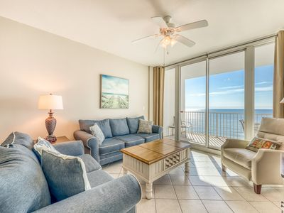 Photo for Gulf-front condo w/ beachside pools, sauna, hot tubs & fitness center!