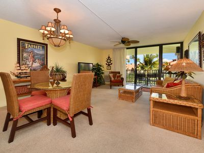 Photo for Kamaole Sands -inner court - granite with view- Open winter