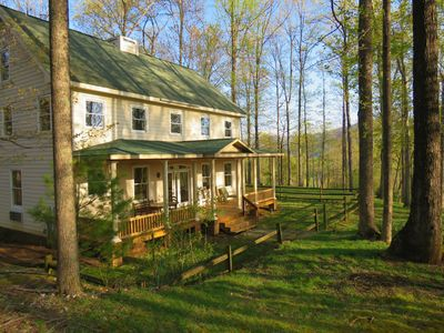 Photo for The Best of Both Worlds: Natural Mountain Setting Close to Great Amenities.