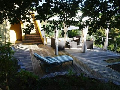 Photo for Charming villa in a quiet spa 6 persons 10 minutes Ajaccio and beaches