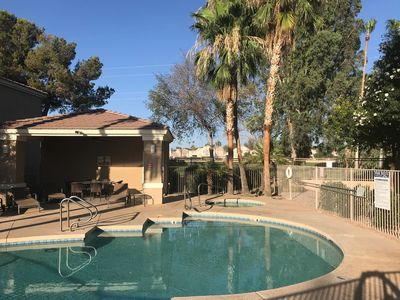 Photo for Beautifully Furnished, Golf Course Condo In The Heart of Mesa With Pool & Spa