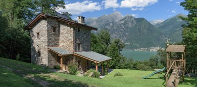 Photo for Stunning secluded 4 Bedroom Lake Como Villa