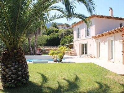 Photo for Well maintained and family friendly villa with private pool near the beach