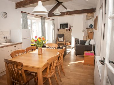 Photo for Old Bakery Musbury,comtemporary cottage, nr village pub child & dog friendly
