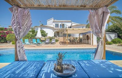 Photo for PURA VIDA villa in Moraira for 7 guests,free wifi