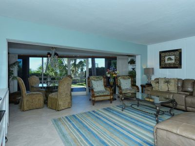 Photo for Doveplum 112- 3 Story, 4 Bedroom Condo with Private Beach with lounge chairs & umbrella provided,...
