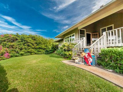 Designed for privacy with a quick walk out your door to the beach