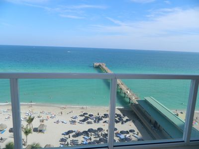 View of the Pier from Balcony and Master room