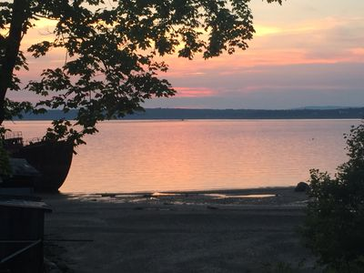 Photo for Beachfront Cottage on Penobscot Bay just minutes from Castine