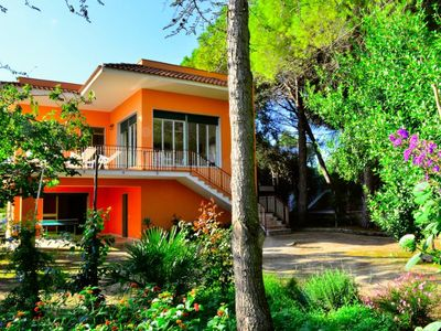 Photo for VILLA EMILIA immersed in a quiet nature between sea, lakes and mountains