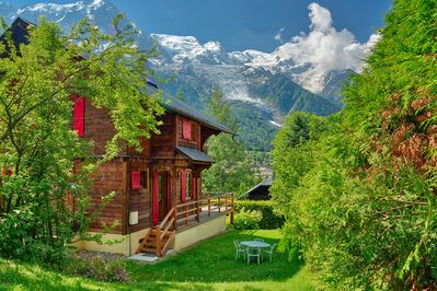 Beautiful chalet in central Chamonix