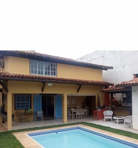 Photo for Buzian style house - great for family one block from the beach