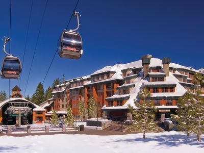Photo for Ski-Out Heavenly Gondola 3-Bedroom Timberlodge Suite+Amenities