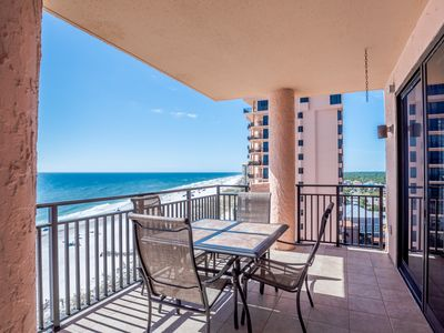 Photo for The perfect beach condo! Gorgeous views, spacious, so clean and happy!