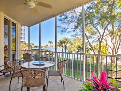 Photo for NEW-Waterfront Naples Condo w/Lanai, Walk to Beach