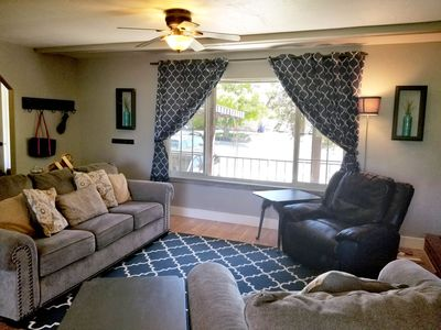 Photo for Retreat at Adventure's Edge. Sleeps 8, fire pit and patio with king sized bed.