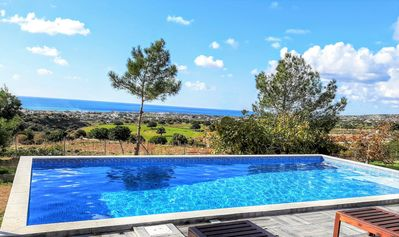 Photo for Villa Gavriel - Breathtaking Sea Views , Peyia Views , Huge outdoor space ,pool