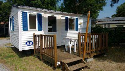 Photo for Mobil Home comfort, on beautiful location for 4 people