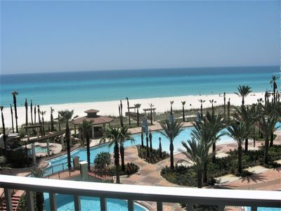 Photo for Gulf Front, 4th floor,  Great View of the Gulf & Pool Area / Reserved Parking
