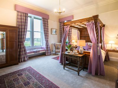 Photo for The West Wing, Kinloss Mansion, Nr  St Andrews, Fife, 5* rated by Visit Scotland