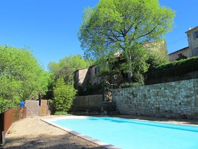 Photo for Traditional Cevennes farmhouse with pool from 2 to 15pers.