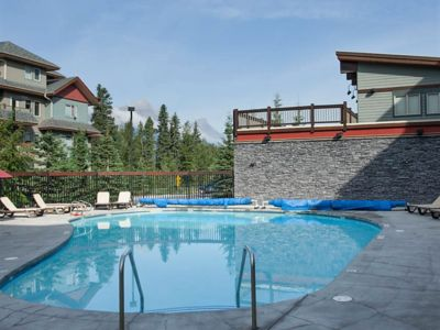 Photo for Premium 2 BR Condo in Canmore, with Heated Pool, Hot Tub!