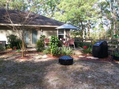 Photo for PRIVATE & QUIET 1BR 1BA  WOODED VIEW APARTMENT GAINESVILLE/NEWBERRY AREA