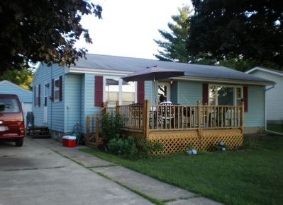 Family-friendly three-bedroom rambler in beautiful Clear Lake, IA