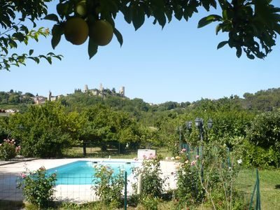 Photo for Villa in the heart of green Provence with pool for 6 persons
