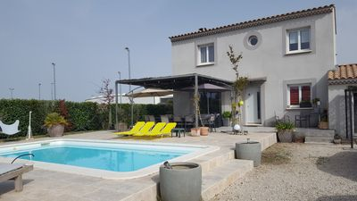 Photo for House + independent pool near Avignon / between Mont Ventoux and Luberon