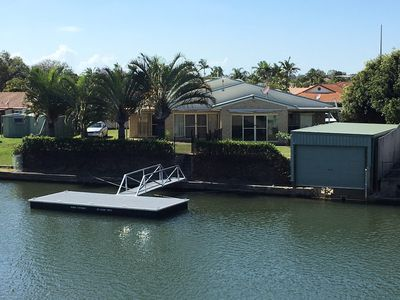 Photo for Private Canal Duplex with Pontoon -  Oleander Drive, Bongaree