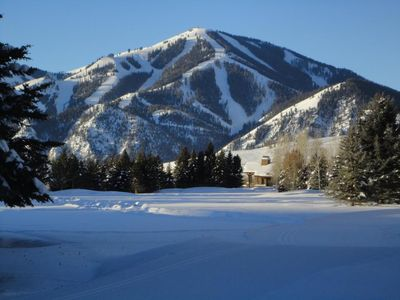 Bald Mountain in the winter. None better.