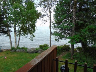 Photo for One Story Sea Villa on Lake Superior - G1