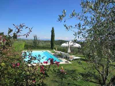 Photo for Villa Salivolpe - on top of a hill in the Chianti