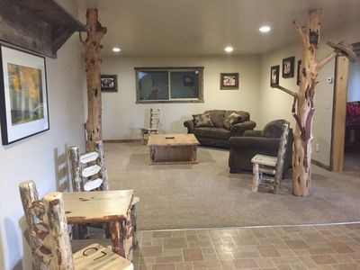 Photo for Ranch House Cabin Lodging - 2 bedroom basement appartment