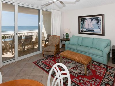 Photo for 1 BR Gulf-Front Condo Sleeps 6, Smart TV, W/D, On-Site Amenities & Free Activities! Beach Club D-409