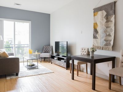 Photo for Sonder | Seaport District | Serene 1BR + Laundry