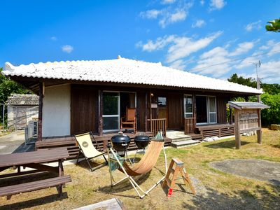 Photo for A secret base for adults on Yagachi Island.Old-fashioned home reserved!5 minutes by car to the beach of the end ☆ Kouri island 12 minutes ☆ Churaumi 30 minutes ☆