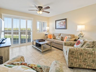 Photo for Hol Surf & Racquet 101-2BR☀DEAL>Oct 13 to 16 $765 Total!☀Updated+Patio by Beach!