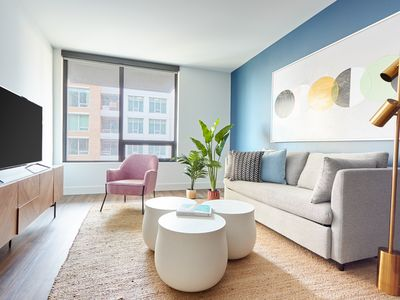 Photo for Sonder | Shift Apartments | Charming 1BR + Gym