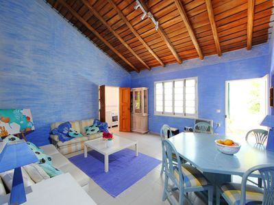 Photo for This 2-bedroom villa for up to 4 guests is located in Portimao and has a private swimming pool and W