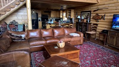 Photo for Beautiful Log home on 22 acres with incredible Mountain & Forest Views