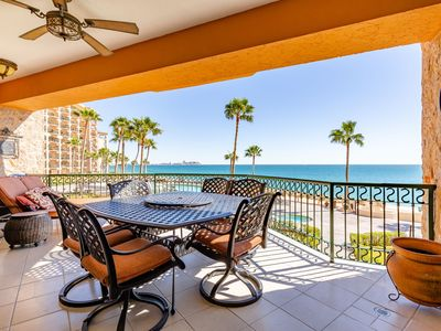 Photo for Sonoran Sea West 205 - 2 Bedroom Upper Floor Ocean Front