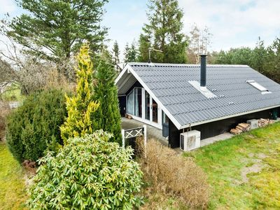 Photo for Tranquil Holiday Home in Fårvang with Covered Terrace