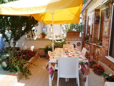 Photo for Cleopatra: holiday home with terrace, Sorrento and Amalfi coast
