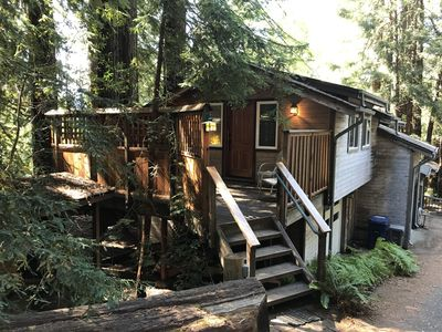 Photo for West Marin/San Geronimo Valley Charming Cottage in the Redwoods