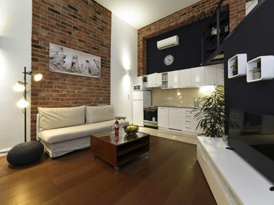 Photo for Industrial Designed Apartment - Zagreb West Center