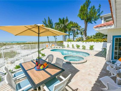 Photo for Beach Front, Gulf Views, Private Pool, May Available!! Sunset Point: 4 BR / 3 BA