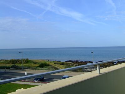 Photo for Apartment T2 mezzanine with stunning sea views