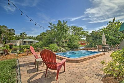 A Hollywood haven awaits 4 guests at this canal-front vacation rental home!